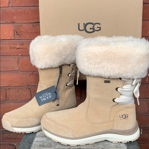UGG Ingalls NEW! Waterproof Suede Shearling Boots